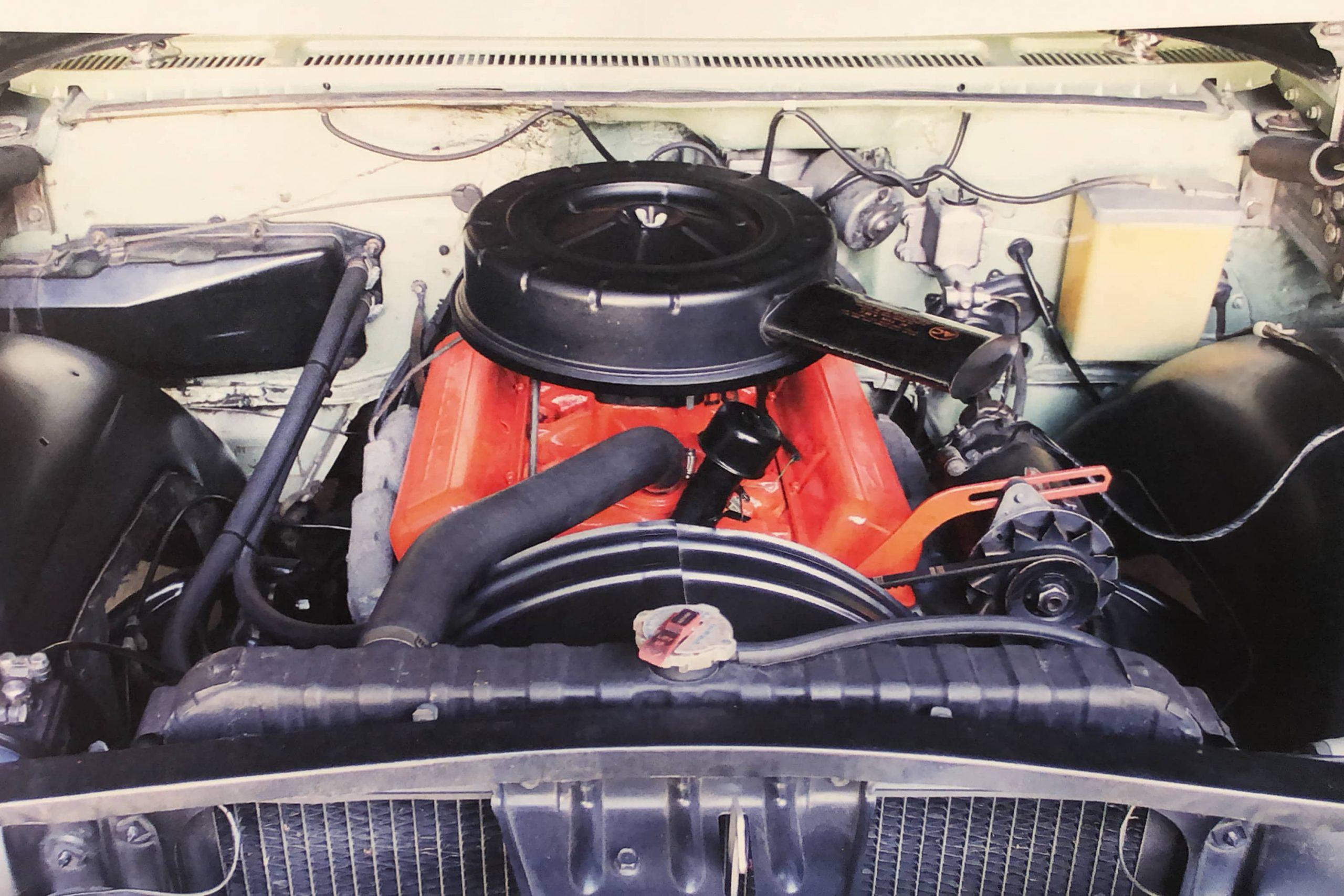 G&D Magazine 1960 Chevy Impala Restoration Engine Bay