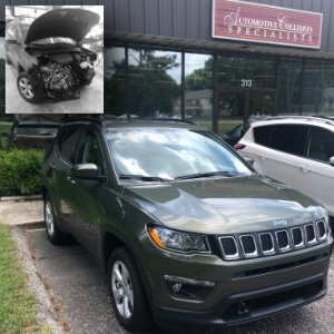 Jeep SUV Automotive Collision Repair Fuquay Varina NC Before and After